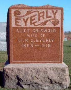 GRISWOLD EYERLY, ALICE MARIE - Madison County, Iowa   ALICE MARIE GRISWOLD EYERLY
