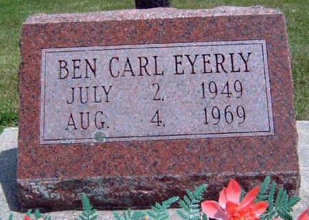 EYERLY, BEN CARL - Madison County, Iowa | BEN CARL EYERLY