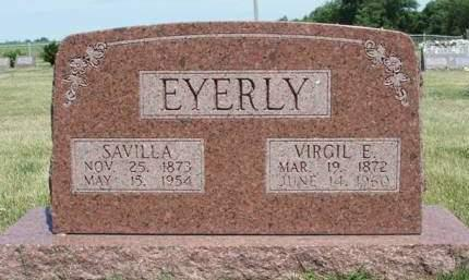 EYERLY, SAVILLA - Madison County, Iowa | SAVILLA EYERLY