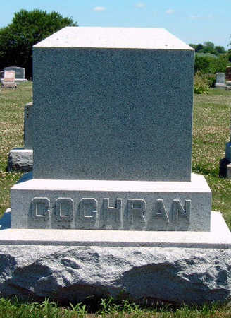 COCHRAN, FAMILY STONE - Madison County, Iowa | FAMILY STONE COCHRAN
