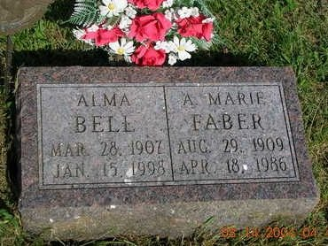 FABER, A. MARIE (DR.) - Madison County, Iowa | A. MARIE (DR.) FABER