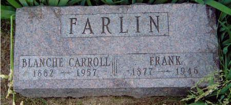 HOPKINS FARLIN, BLANCHE CARROLL - Madison County, Iowa | BLANCHE CARROLL HOPKINS FARLIN