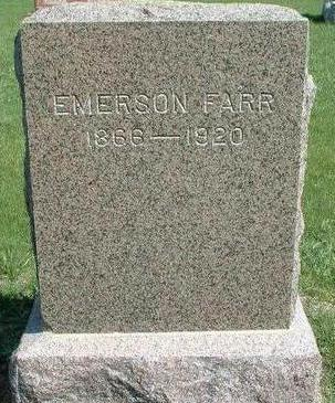 FARR, EMERSON - Madison County, Iowa | EMERSON FARR