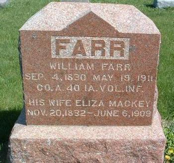 FARR, ELIZA - Madison County, Iowa | ELIZA FARR