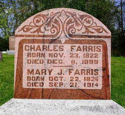 FARRIS, MARY JANE - Madison County, Iowa | MARY JANE FARRIS