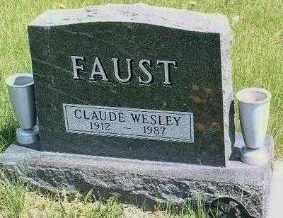 FAUST, CLAUDE WESLEY - Madison County, Iowa | CLAUDE WESLEY FAUST