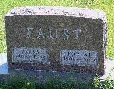 FAUST, FOREST - Madison County, Iowa | FOREST FAUST