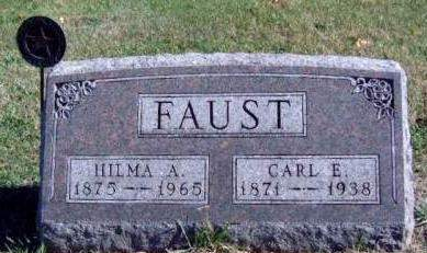 FAUST, CARL EDWARD - Madison County, Iowa | CARL EDWARD FAUST