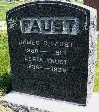 FAUST, JAMES GARFIELD - Madison County, Iowa | JAMES GARFIELD FAUST