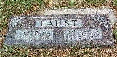 FAUST, JOHN A. - Madison County, Iowa | JOHN A. FAUST