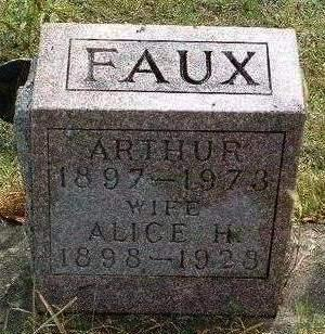 KAY FAUX, ALICE HAZEL - Madison County, Iowa | ALICE HAZEL KAY FAUX