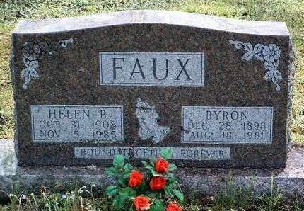 COOPER FAUX, HELEN BEATRICE - Madison County, Iowa | HELEN BEATRICE COOPER FAUX