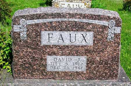 FAUX, DAVID JUDSON - Madison County, Iowa | DAVID JUDSON FAUX