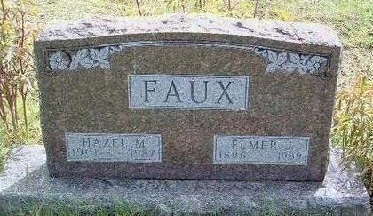 FAUX, ELMER J. - Madison County, Iowa | ELMER J. FAUX