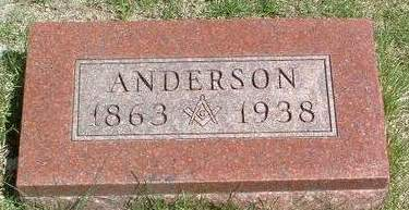 FENIMORE, ANDERSON - Madison County, Iowa | ANDERSON FENIMORE