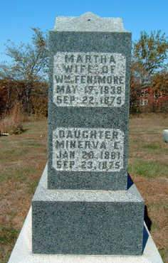 FENIMORE, MARTHA - Madison County, Iowa | MARTHA FENIMORE