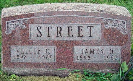 FENIMORE STREET, VELCIE CECELIA - Madison County, Iowa | VELCIE CECELIA FENIMORE STREET