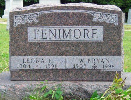 O'BRIEN FENIMORE, LEONA ELIZABETH - Madison County, Iowa | LEONA ELIZABETH O'BRIEN FENIMORE