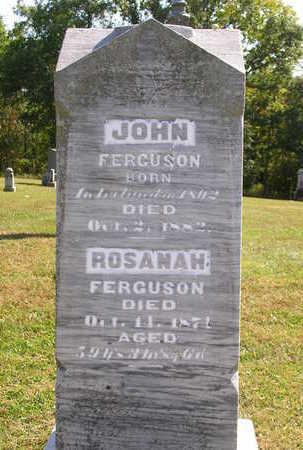 FERGUSON, JOHN - Madison County, Iowa | JOHN FERGUSON