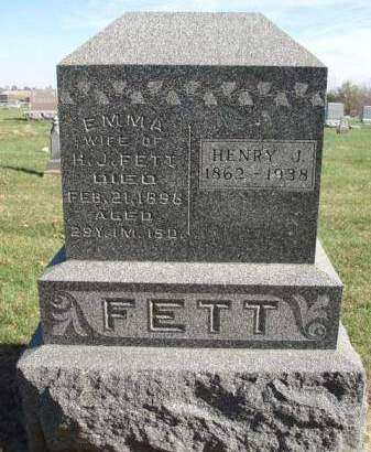 FETT, HENRY JOHN - Madison County, Iowa | HENRY JOHN FETT