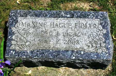 HAGUE FIDLER, MAXINE - Madison County, Iowa | MAXINE HAGUE FIDLER
