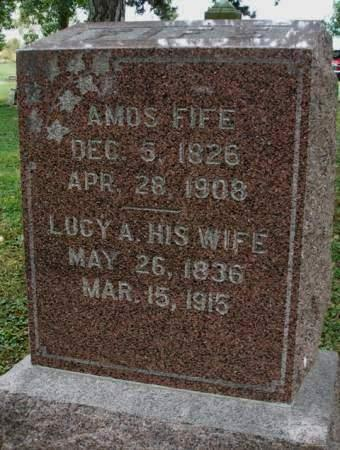 SMITH FIFE, LUCY ANN - Madison County, Iowa | LUCY ANN SMITH FIFE