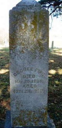 FIFE, GEORGE - Madison County, Iowa | GEORGE FIFE