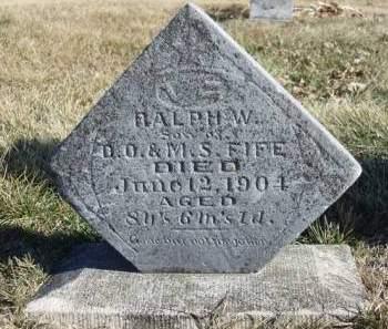 FIFE, RALPH WALDO - Madison County, Iowa | RALPH WALDO FIFE