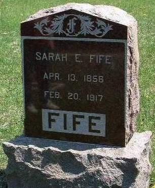 FIFE, SARAH ELIZABETH (SADIE) - Madison County, Iowa | SARAH ELIZABETH (SADIE) FIFE
