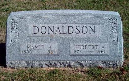 FINNEY DONALDSON, MAMIE A. - Madison County, Iowa | MAMIE A. FINNEY DONALDSON