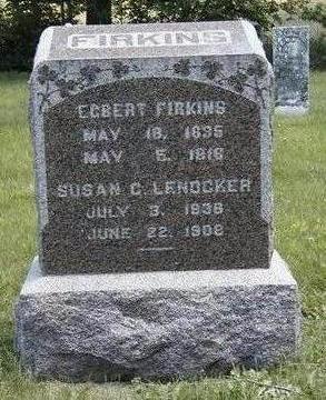 FIRKINS, SUSAN CATHERINE - Madison County, Iowa   SUSAN CATHERINE FIRKINS