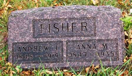 FISHER, ANNA M. - Madison County, Iowa | ANNA M. FISHER