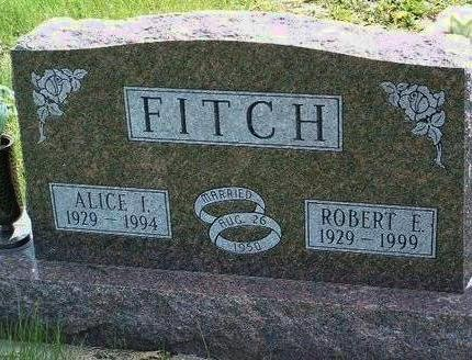 FITCH, ALICE IRENE - Madison County, Iowa | ALICE IRENE FITCH