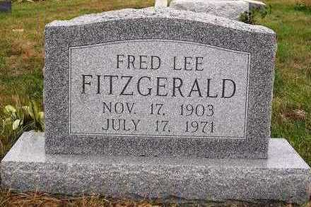 FITZGERALD, FRED LEE - Madison County, Iowa | FRED LEE FITZGERALD
