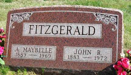 FITZGERALD, ANNIE MAYBELLE - Madison County, Iowa | ANNIE MAYBELLE FITZGERALD