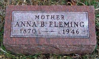 FLEMING, ANNA BELLE - Madison County, Iowa | ANNA BELLE FLEMING