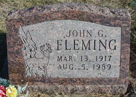 FLEMING, JOHN GRANT - Madison County, Iowa | JOHN GRANT FLEMING