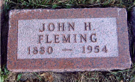 FLEMING, JOHN HOWE - Madison County, Iowa | JOHN HOWE FLEMING