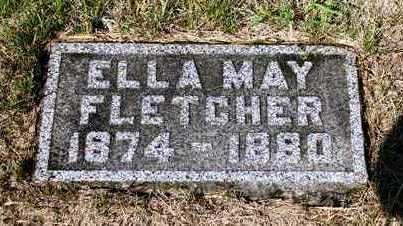FLETCHER, ELLA MAY - Madison County, Iowa | ELLA MAY FLETCHER