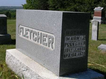 WALKER FLETCHER, MARY JANE - Madison County, Iowa | MARY JANE WALKER FLETCHER
