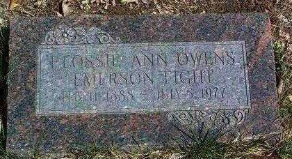 OWENS FIGHT, FLOSSIE ANN - Madison County, Iowa | FLOSSIE ANN OWENS FIGHT