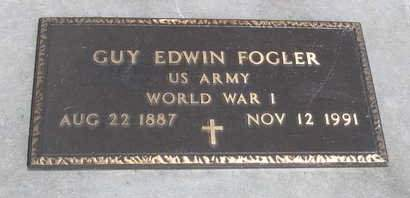 FOGLER, GUY EDWIN - Madison County, Iowa | GUY EDWIN FOGLER