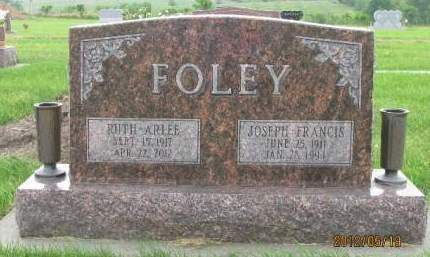 FOLEY, JOSEPH FRANCIS - Madison County, Iowa | JOSEPH FRANCIS FOLEY