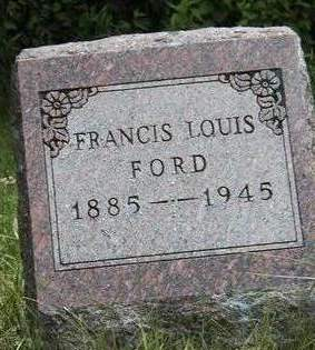 FORD, FRANCIS LOUIS (FRANK) - Madison County, Iowa | FRANCIS LOUIS (FRANK) FORD