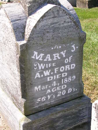 FORD, MARY JANE - Madison County, Iowa | MARY JANE FORD