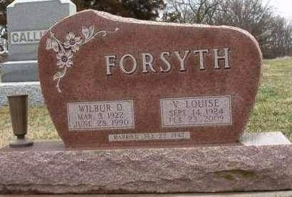 FORSYTH, VIRGINIA LOUISE - Madison County, Iowa | VIRGINIA LOUISE FORSYTH
