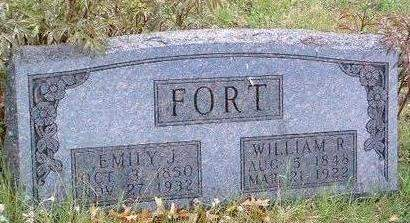 FORT, WILLIAM RILEY - Madison County, Iowa | WILLIAM RILEY FORT