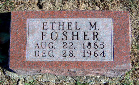 FOSHER, ETHEL MAY - Madison County, Iowa | ETHEL MAY FOSHER