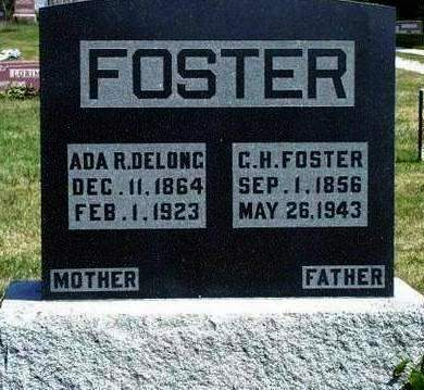 FOSTER, GEORGE HOMER - Madison County, Iowa | GEORGE HOMER FOSTER