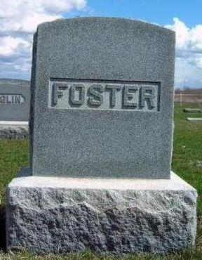 FOSTER, FAMILY STONE - Madison County, Iowa | FAMILY STONE FOSTER